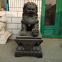 TDDW1343-中式铜雕狮子加工