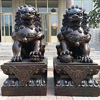 TDDW1344-中式铜雕狮子加工厂