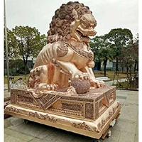 TDDW1346-中式铜雕狮子厂