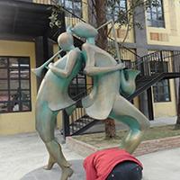 TDRW3169-铜雕人物设计