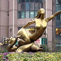 TDRW3171-铜雕人物制作