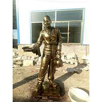 TDRW510-单体人物铜雕站像哪里有