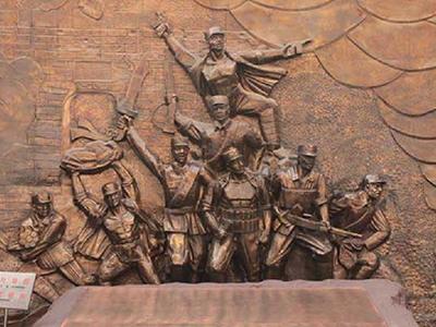 TFD1339-锻铜人物浮雕_铸铜人物浮雕