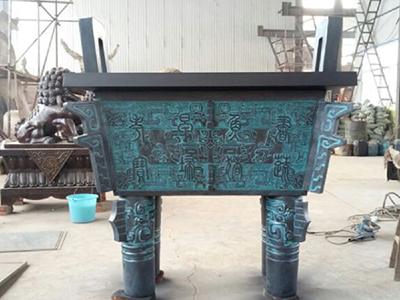 TQDS172-大型铜雕_铜鼎厂家