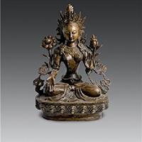 XFGS016-藏传佛教铜雕塑公司