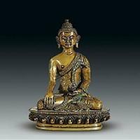 XFGS018-藏传佛教铜雕塑加工