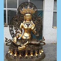 XFGS021-藏传佛教铜雕塑厂