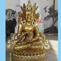 XFGS022-藏传佛教铜雕塑定制