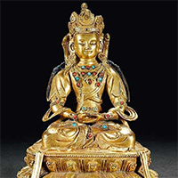 XFGS023-藏传佛教铜雕塑设计