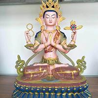 XFGS037-藏传佛教铜雕塑厂