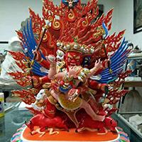 XFGS042-藏传佛教铜雕塑制作