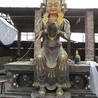 XFGS083-藏传佛教铜雕塑加工厂