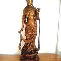 XFGS084-藏传佛教铜雕塑厂家