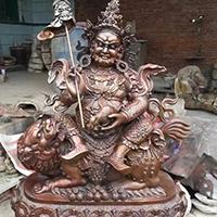 XFGS087-藏传佛教铜雕塑设计