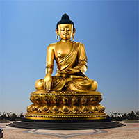 XFGS095-藏传佛教铜雕塑生产厂家