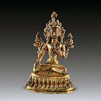 XFGS096-藏传佛教铜雕塑公司