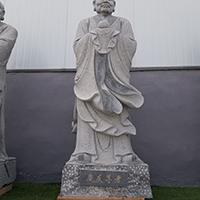 XFGS1142-十八罗汉石雕塑像供应