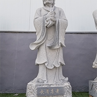 XFGS1152-十八罗汉石雕塑像哪里有