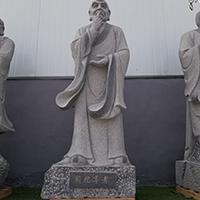 XFGS1158-十八罗汉石雕塑像加工
