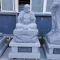 XFGS1168-十八罗汉石雕塑像多少钱