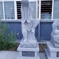 """""""XFGS1169-十八罗汉石雕塑像制作厂家"""""""