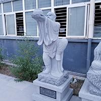 XFGS1175-十八罗汉石雕塑像厂