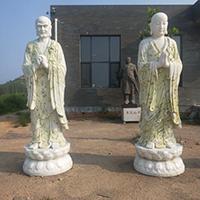 XFGS1193-十八罗汉石雕塑像价格