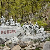 XFGS1200-十八罗汉石雕塑像供应