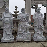 XFGS1210-十八罗汉石雕塑像哪里有