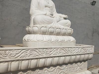 XFGS1410-释迦牟尼佛石雕坐像报价