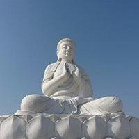XFGS1414-释迦牟尼佛石雕坐像哪里有