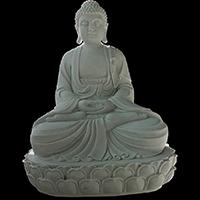 XFGS1420-释迦牟尼佛石雕坐像加工厂