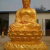XFGS1431-释迦牟尼佛铜雕塑像生产厂家