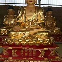 XFGS1435-释迦牟尼佛铜雕塑像加工厂
