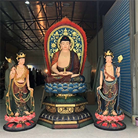 XFGS1437-释迦牟尼佛铜雕塑像厂