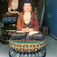 XFGS1440-释迦牟尼佛铜雕塑像价格