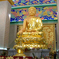 XFGS1441-释迦牟尼佛铜雕塑像制作
