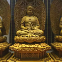 XFGS1527-释迦牟尼佛铜雕塑像报价