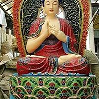 XFGS1536-释迦牟尼佛铜雕塑像加工