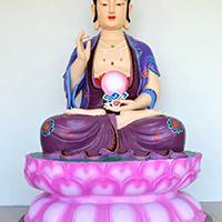 XFGS1540-释迦牟尼佛铜雕塑像设计
