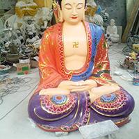 XFGS1550-释迦牟尼佛铜雕塑像加工