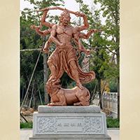 XFGS1651-四大天王雕塑像供应