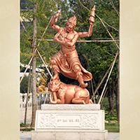 XFGS1652-四大天王雕塑像加工