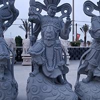 XFGS1672-四大天王石雕塑像报价
