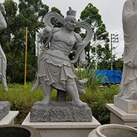 XFGS1675-四大天王石雕塑像哪家好