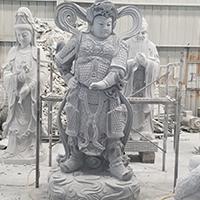 XFGS1676-四大天王石雕塑像哪里有