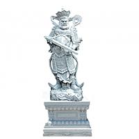 XFGS1680-四大天王石雕塑像供应