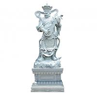 XFGS1681-四大天王石雕塑像加工