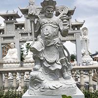 XFGS1687-四大天王石雕塑像报价