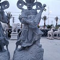 XFGS1693-四大天王石雕塑像生产厂家
